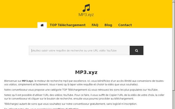 Trouvez et téléchargez vos vidéos YouTube en MP3