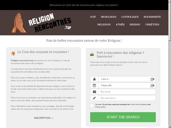 Rencontre religieuse avec des croyants et croyantes