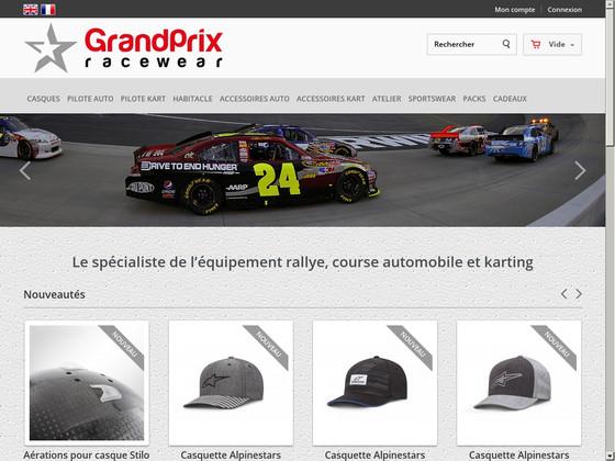 Grand Prix Racewear, accessoires pour karting et rallye