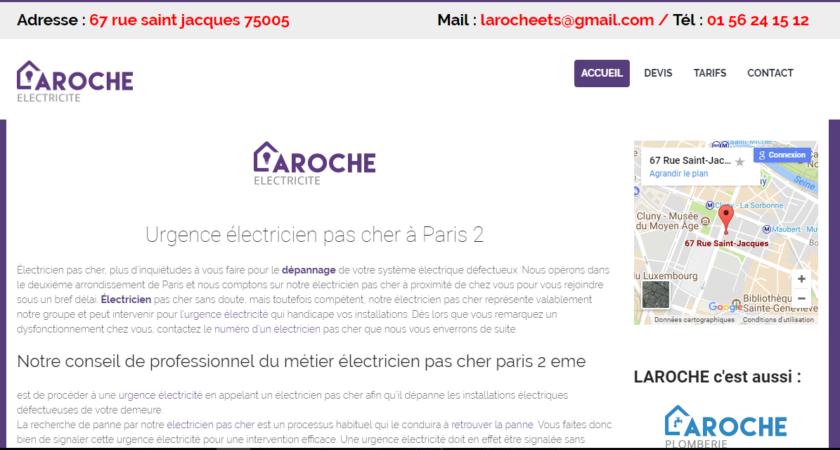 Électricien pas cher en urgence à Paris 2