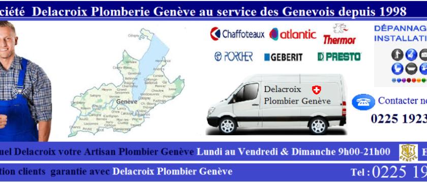 Delacroix Plomberie, plombier à Genève