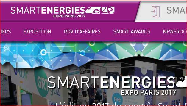 Les informations relatives au salon Smart Energies Expo