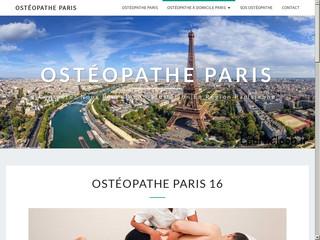 Ostéopathe Paris 16