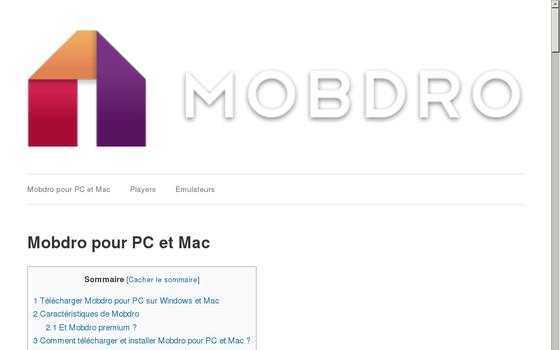 Découvrez et téléchargez l'application Mobdro