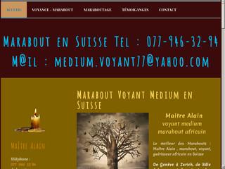 Maitre Alain, votre marabout africain à Genève