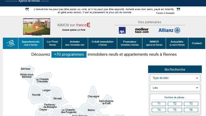 Spécialiste de l'immobilier neuf à Rennes