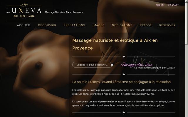 Massage naturiste Aix en Provence pour femme