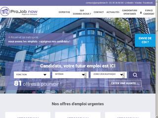 Agence d'emploi opérant dans la ville de Rouen