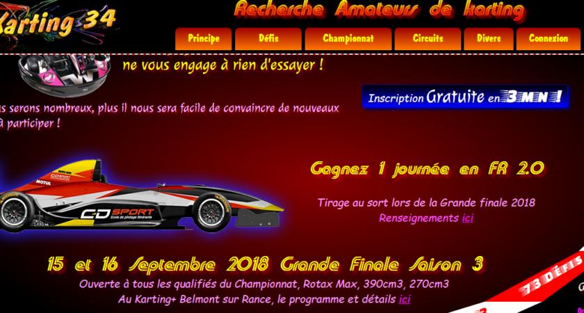 Trouvez aisément votre circuit de karting en France
