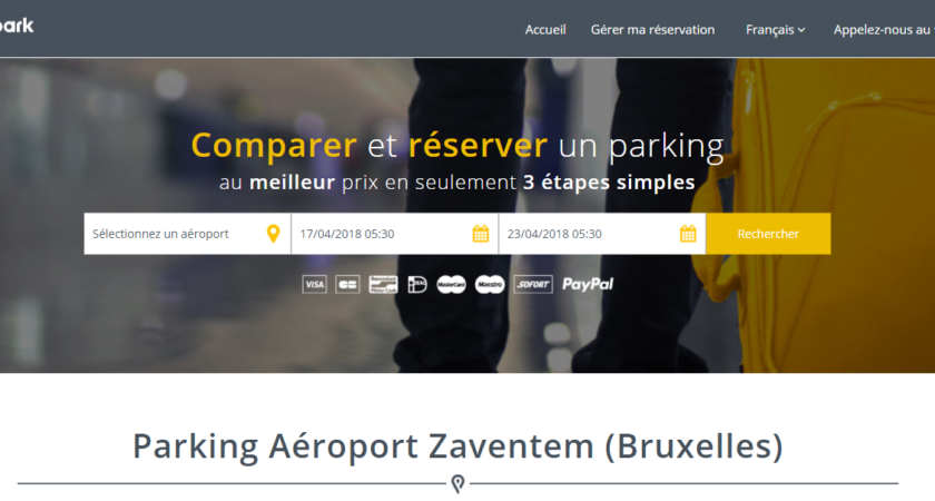 Parking aéroport Zaventem