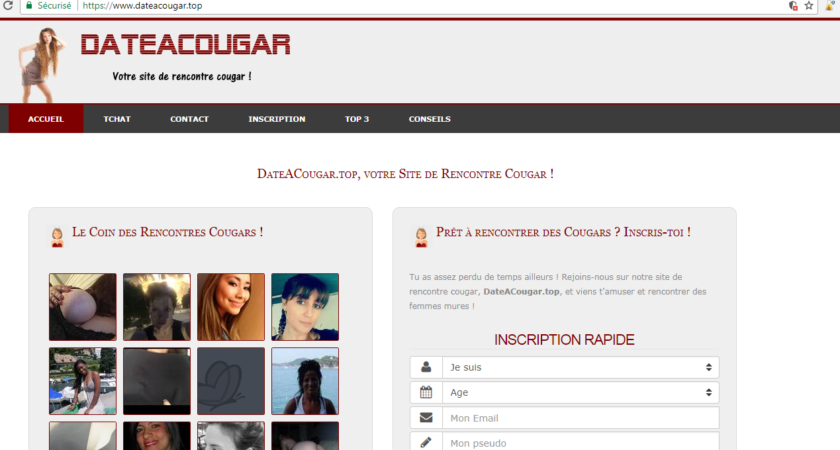 Dateacougar.top, site de rencontre cougar