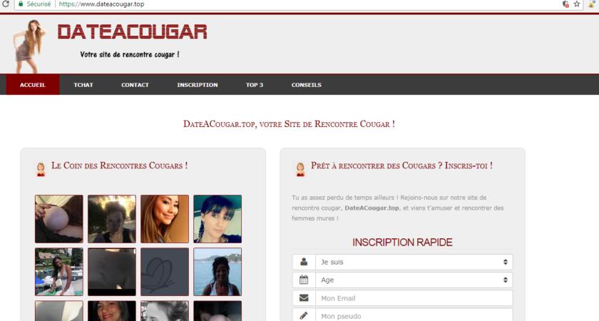 Dateacougar.top, site de rencontre cougar