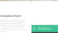 Découvrez les soins de l'ostéopathe Paris 15ème