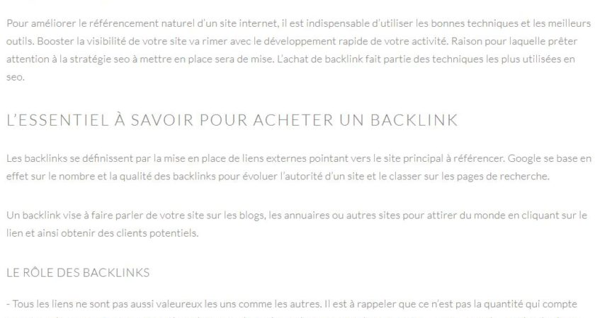 L'achat de backlinks, une technique SEO efficace