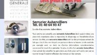 Entreprise des serruriers professionnels à Aubervilliers