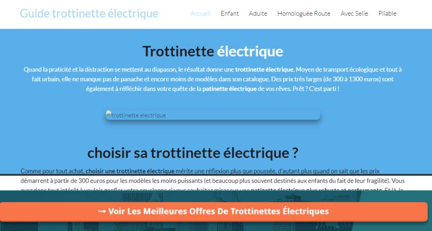 Guide d'achat de trottinette électrique