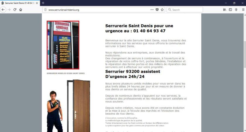 Serruriers Saint-Denis dans le 93200