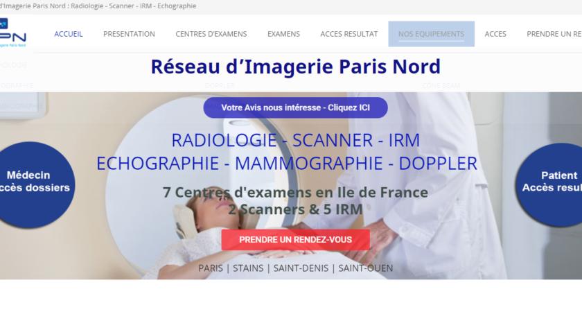 Le réseau d'imagerie en île de France