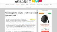 Guide pour trouver le meilleur aspirateur robot