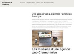 Agence web à Clermont-Ferrand en Auvergne