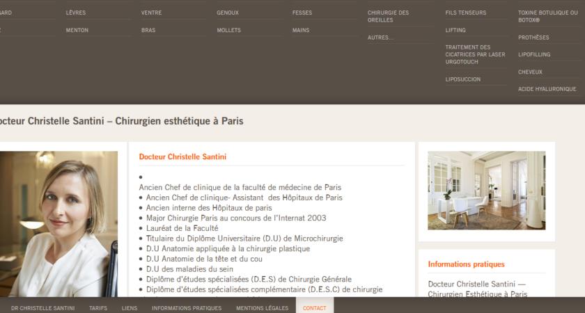 Clinique de chirurgie esthétique à Paris