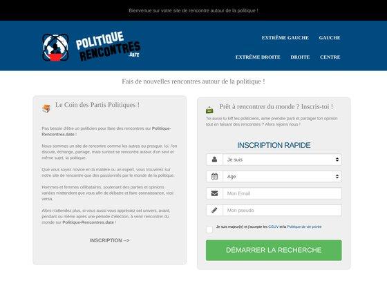 Site de rencontres des politiques de l'extrême gauche