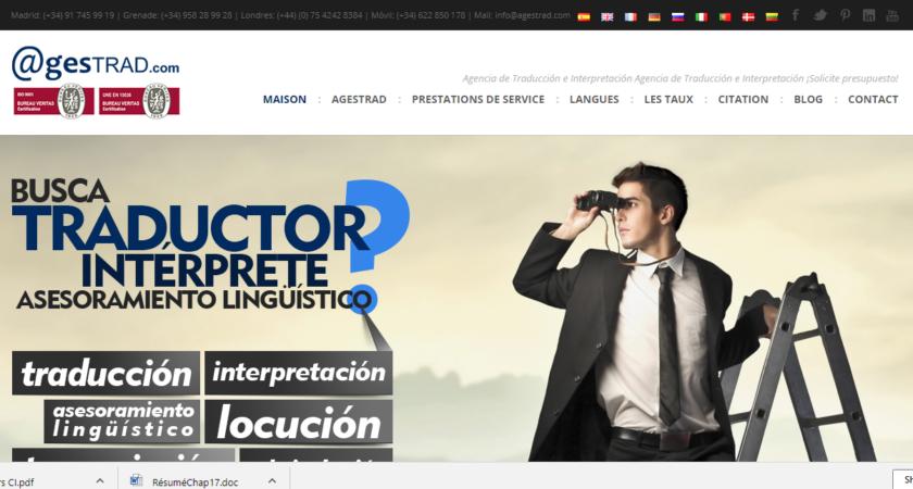 Agestrad, pour trouver un traducteur professionnel certifié