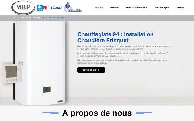 Chauffagiste 94
