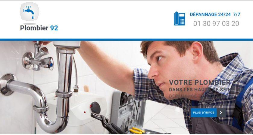 Service de plomberie dans les Hauts-de-Seine