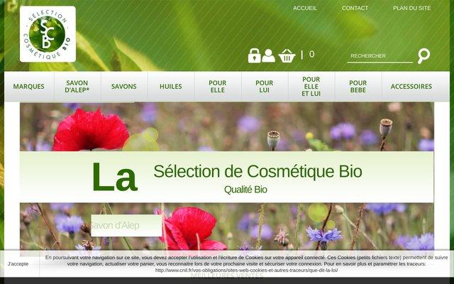 La boutique en ligne des produits cosmétiques bio