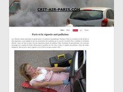 Découvrir la vignette crit'air Paris
