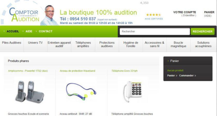 Meilleure boutique de vente des produits auditifs