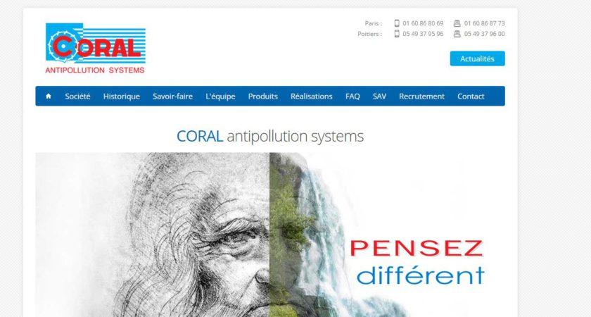 Groupe Coral, spécialiste en filtrage d'air
