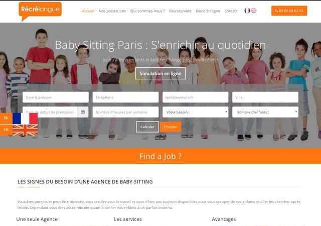 Agence de baby sitting à Paris
