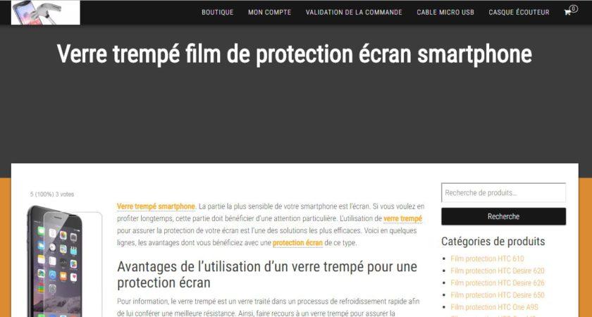 Verretrempe.fr : guide pour acheter les meilleurs films de protection en verre trempé
