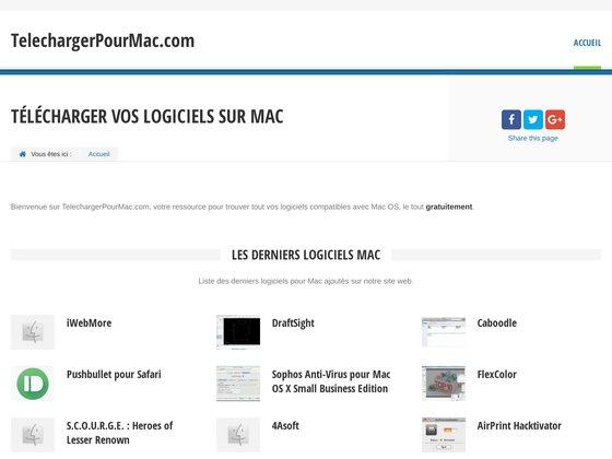 Logiciels gratuit pour MAC