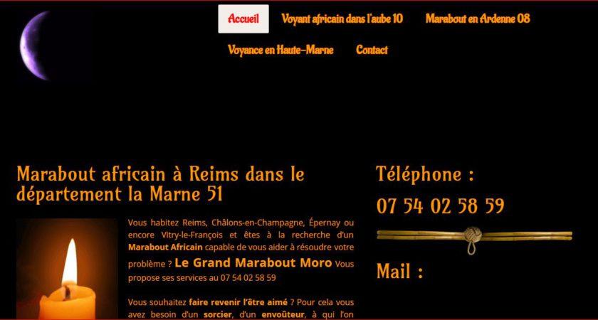Voyant médium marabout à Reims