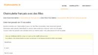 Chatroulette fr: la référence des rencontres webcam.