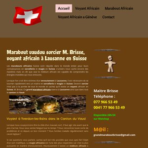 Maître Brisse, le marabout du Canton de Vaud