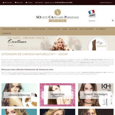 Socap France, le spécialiste des extensions de cheveux naturels