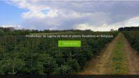 Pépinière forestière en Belgique et en France