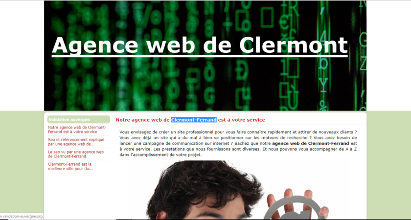 Votre référencement SEO à Clermont-Ferrand