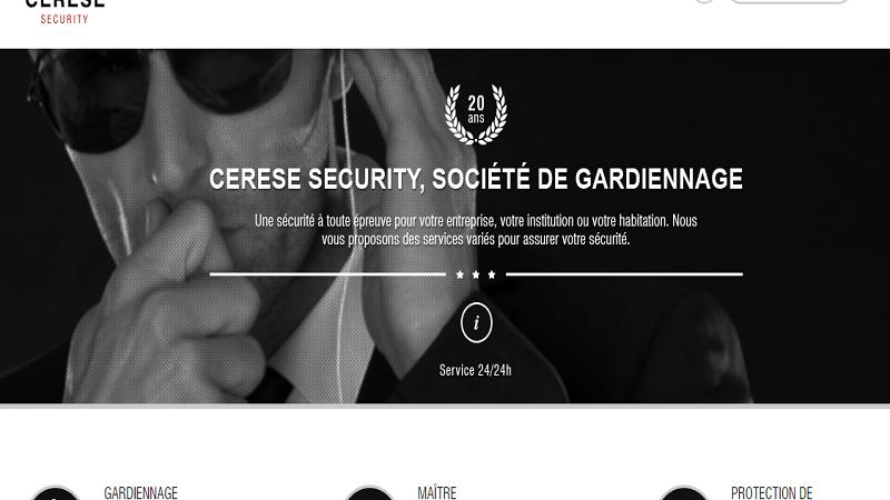 Cerese Security, entreprise de gardiennage et de sécurité