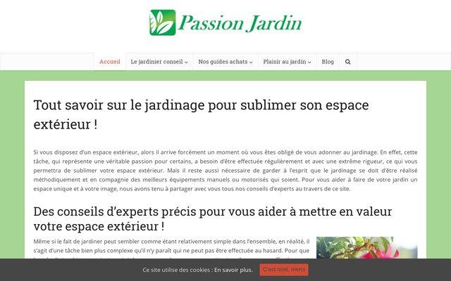 Conseils de la passion du jardin