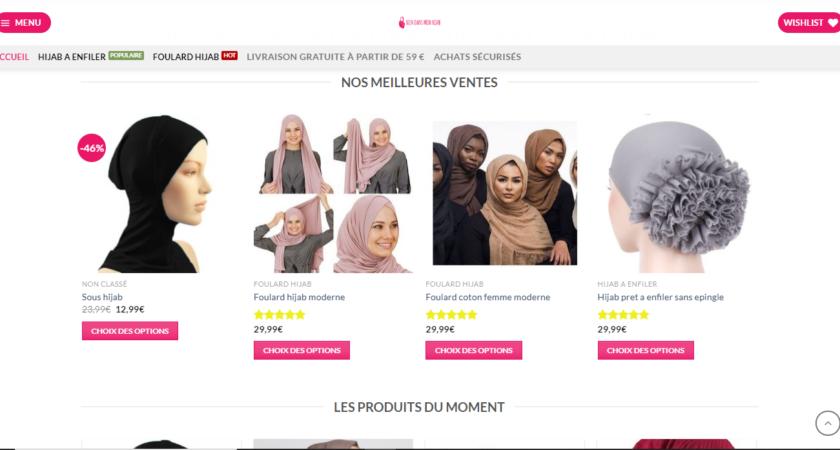 Votre boutique de Hijab en France