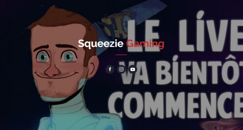Squeezie-live.fr : tout savoir sur la chaîne Squeezie Gaming