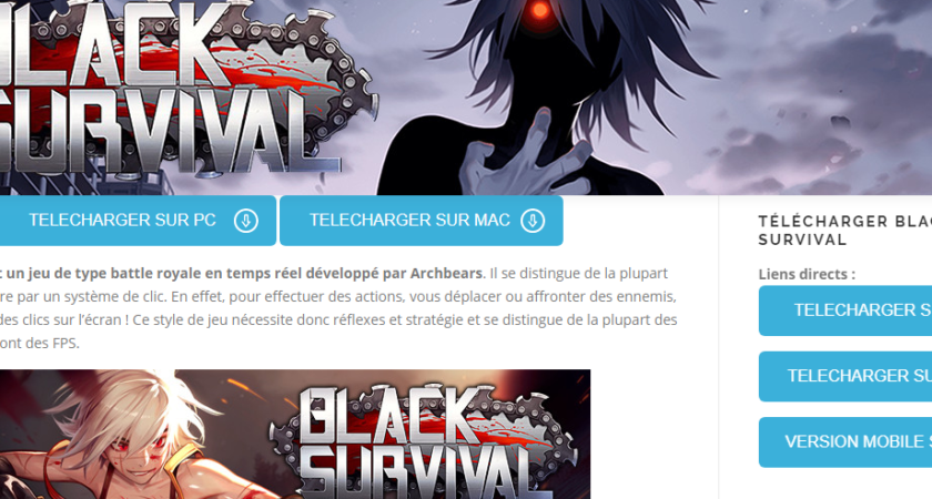 Blacksurvival.fr : Black Survival, un jeu de la catégorie battle royale qui est conçu pour votre plaisir