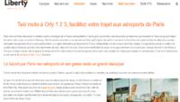 Votre taxi moto aux aéroports de Roissy et d'Orly