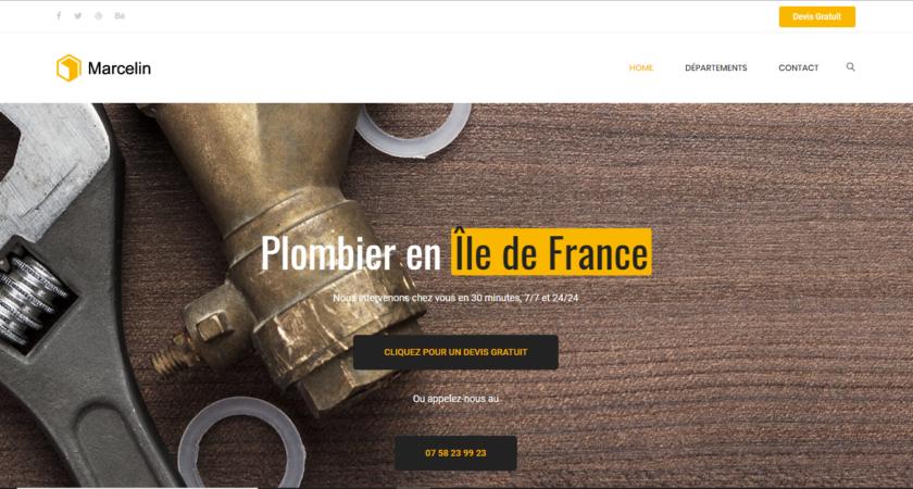 Service de plomberie à Paris