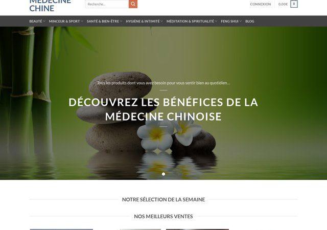 Vente et livraison des produits de médecine chinoise